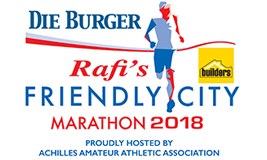 Die Burger Rafi's Friendly City Marathon
